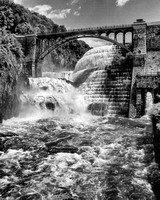 Croton Dam in Flood