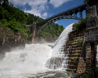 Croton Dam in Flood-3
