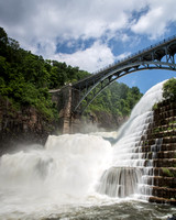 Croton Dam in Flood-4